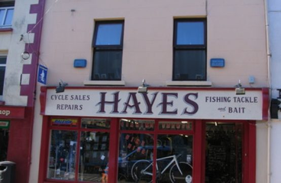 Hayes Cycle Shop, 108, South Main Street, Wexford